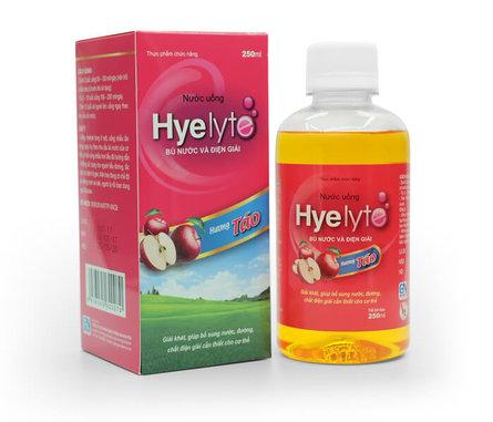 Thực phẩm Hyelyte bù nước và điện giải dành cho trẻ em
