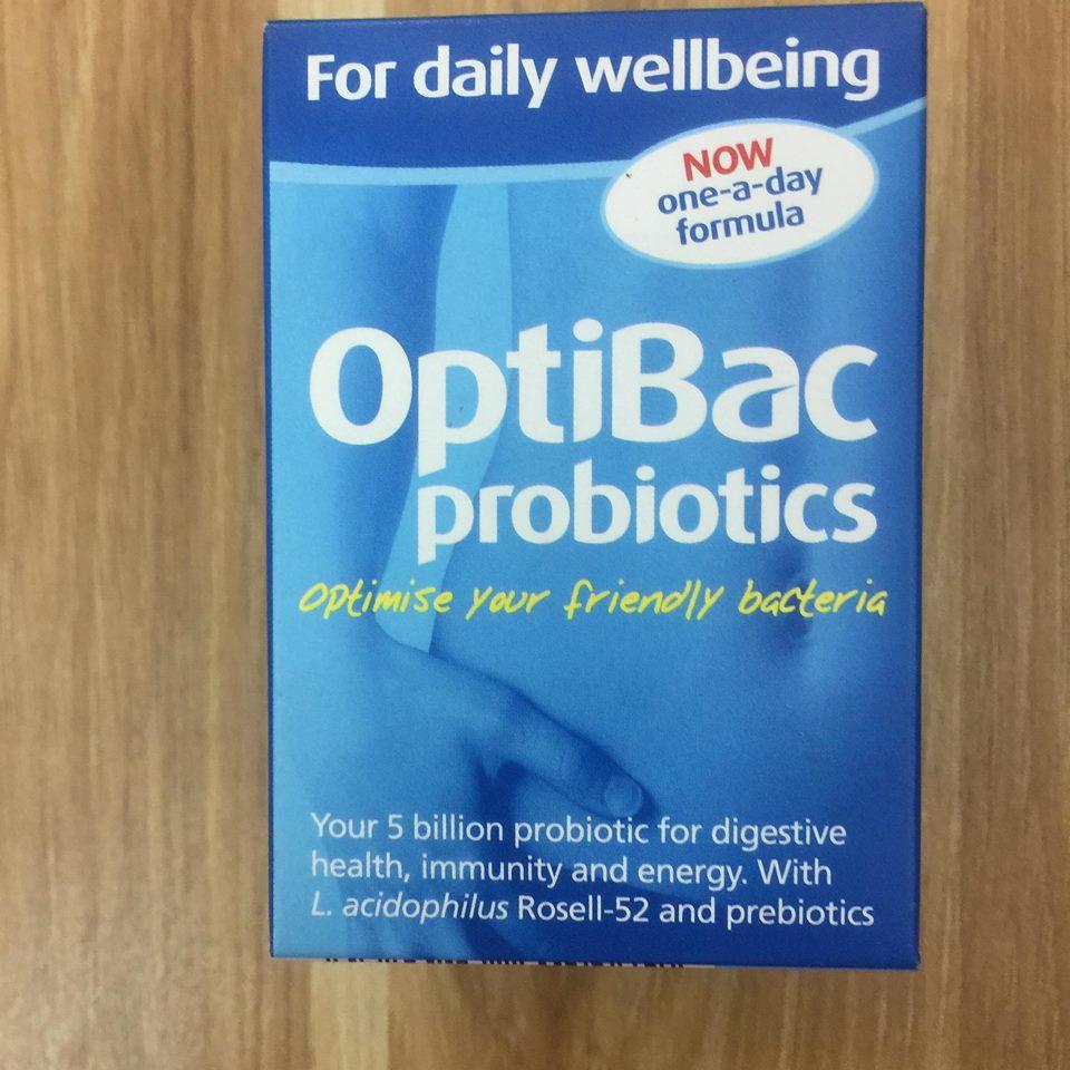 Men Vi Sinh OptiBac Probiotics Xanh có tốt không?