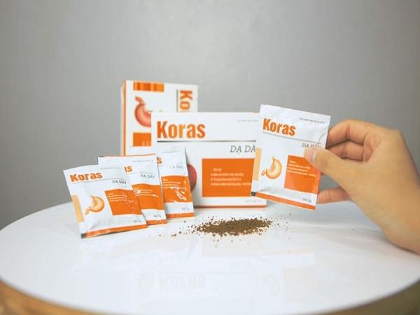 Thực phẩm bảo vệ dạ dày Koras có tốt không?