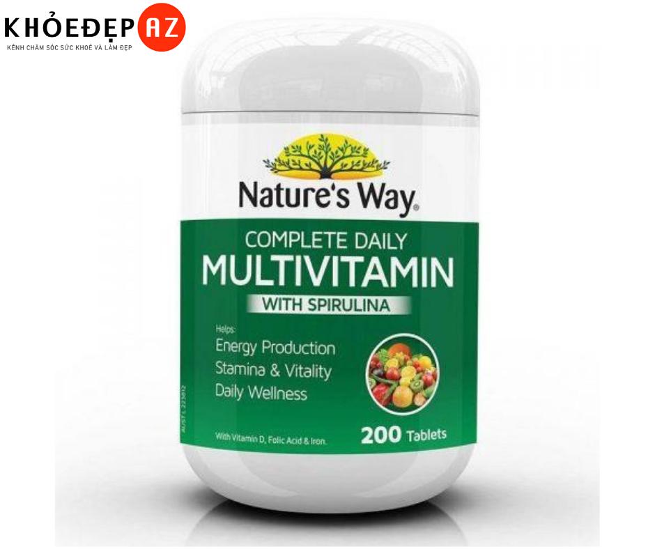 [REVIEW] Có nên uống Vitamin Tổng Hợp Nature's Way, có tốt không?